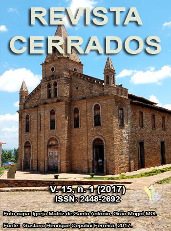 Visualizar v. 15 n. 01 (2017): Revista Cerrados