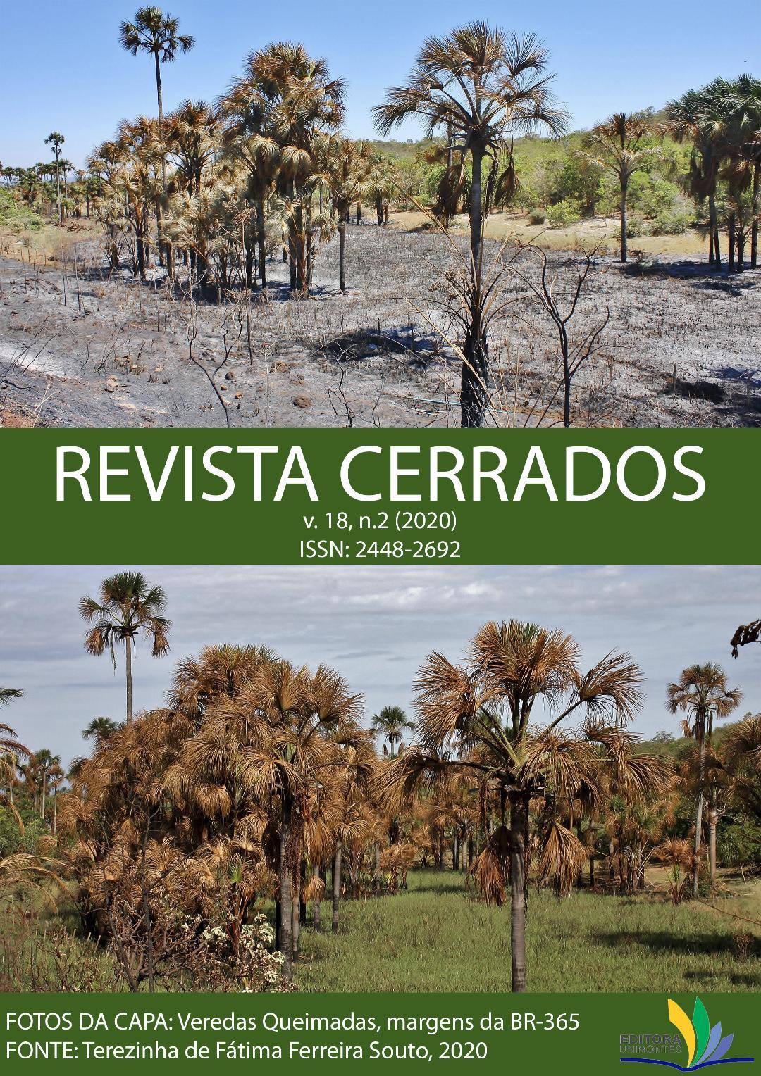 Visualizar v. 18 n. 02 (2020): Revista Cerrados