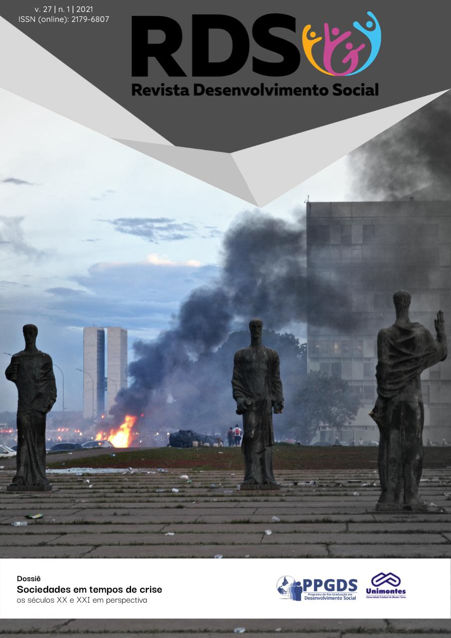 Visualizar v. 27 n. 1 (2021): Sociedades em tempos de crise: os séculos XX e XXI em perspectiva